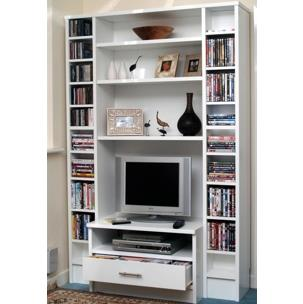 Smaller standard sized free standing bookcases