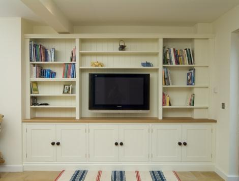 Excellent Built In Bookcases Contemporarylivingroom