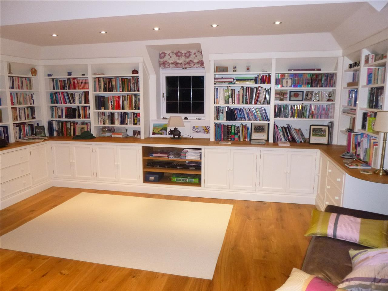 Loft space Library/Family Room