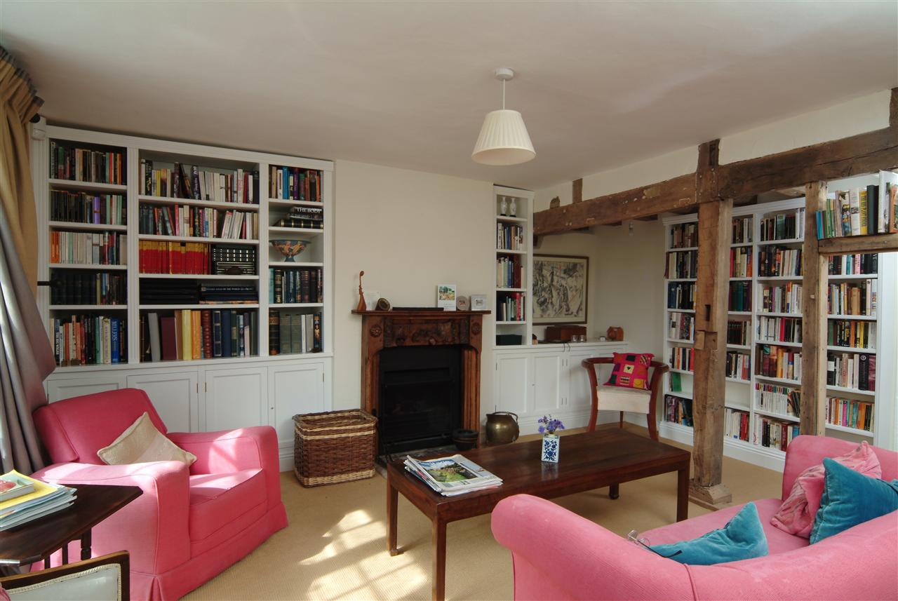 10) Sitting Room Bookcases