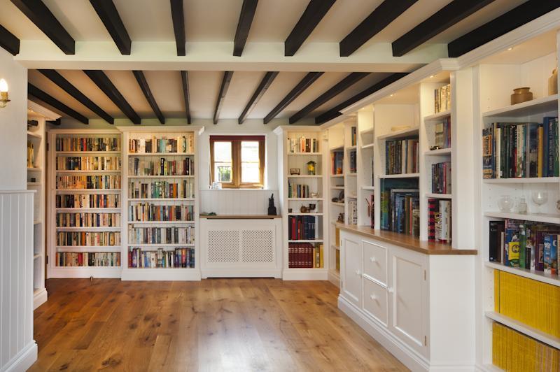 Shelves Including Radiator Cover
