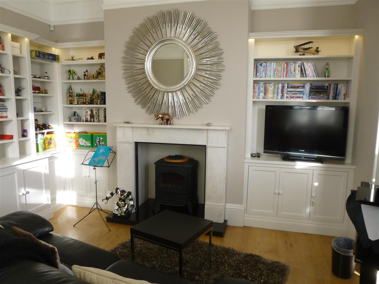 TV and Family Room Bookcases