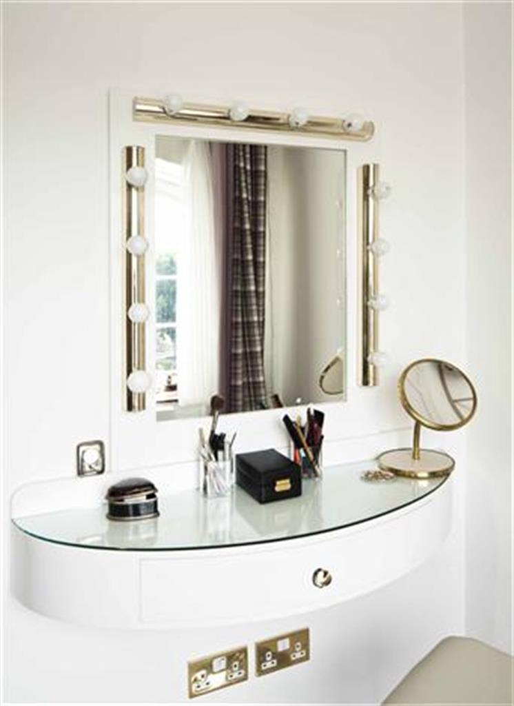 Bespoke floating dressing table